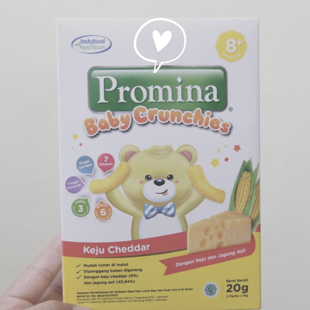 Alternatif Camilan Sehat: Promina Crunchies